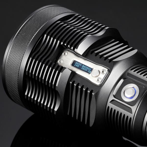 NITECORE TM36 - NABÍJECÍ SVÍTILNA S DOSVITEM 1100M, LUMINUS SBT-70 LED - 1800LM