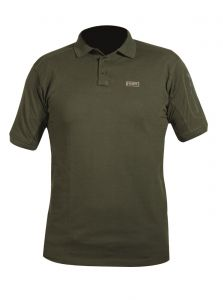 Tričko IVORY POLO SHIRT DARK OLIVE polo